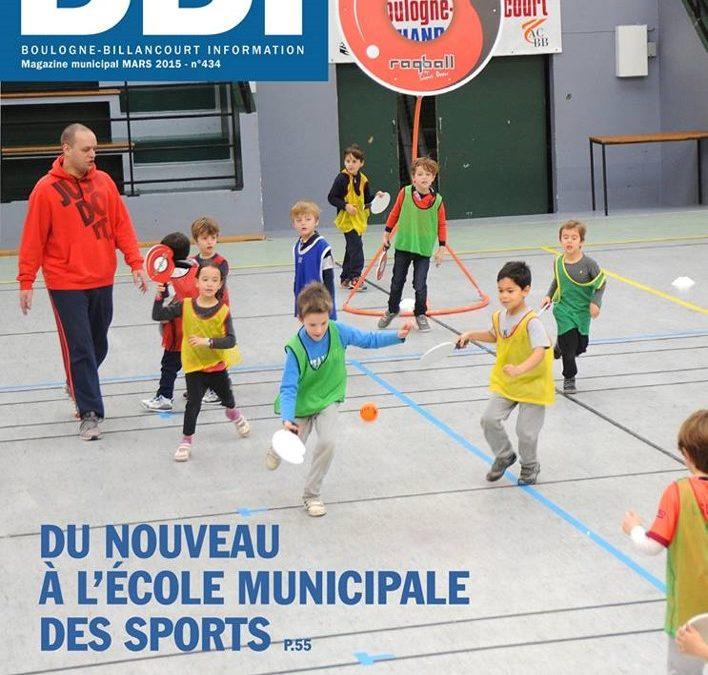 Ecole municipale des sports: Boulogne Billancourt