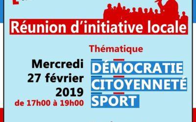 Le grand débat national Musée National du Sport, 27 février 2019
