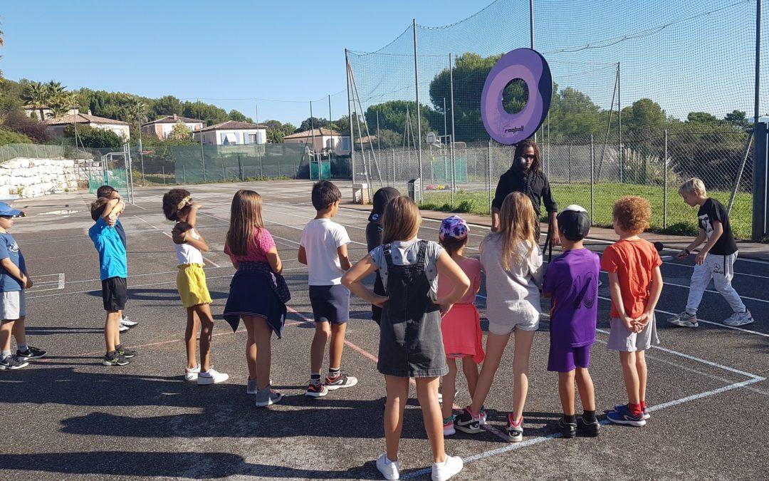 Tournée des écoles de la ville de BIOT, octobre 2019