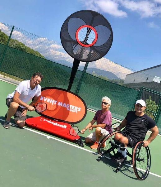 Deux belles rencontres au Tennis Padel Club des Combes à Nice