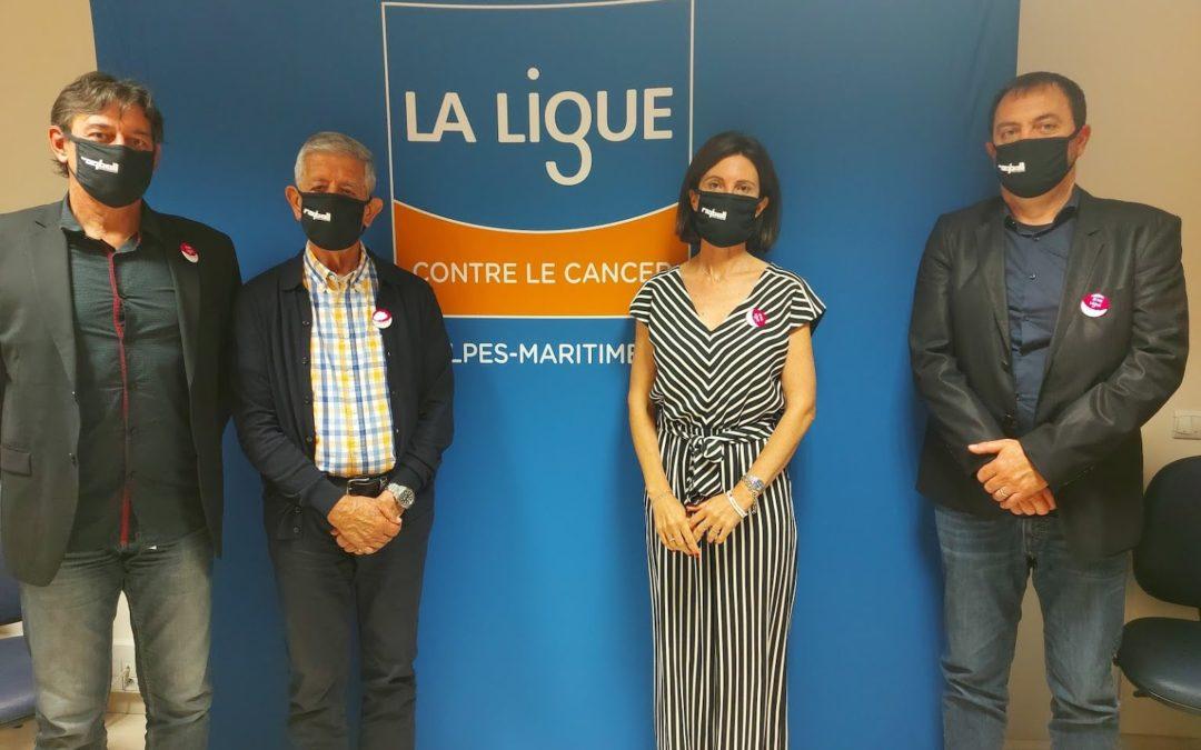 Signature de Convention tripartite entre la Ligue Contre le Cancer des Alpes-Maritimes