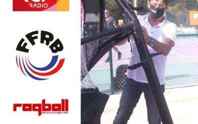 Présentation du Raqball sur la Radio RCF