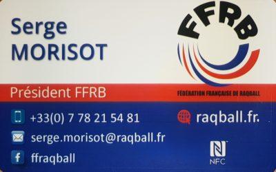 La Fédération Française et la Fédération Internationale de RAQBALL innovent dans le Développement Durable et dans la Santé !