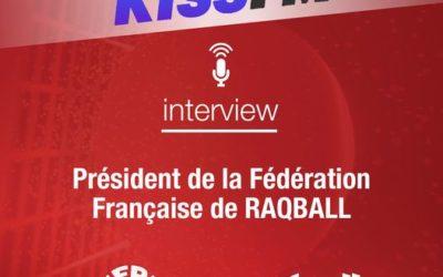Le président interviewé sur KISSFM, le 17 mars 2021.